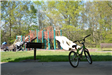 Bicycle Parked at Playground