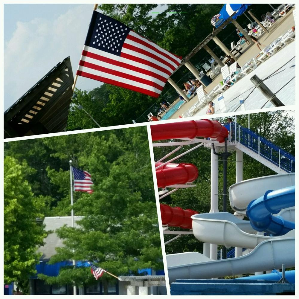 American Flag and Slides