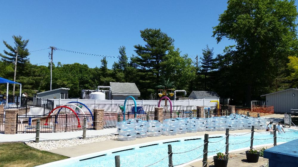 Splash Pad and Lazy River