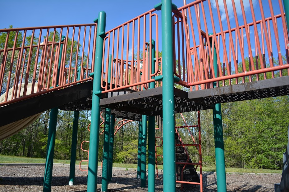 Bridge Area on Playground Equipment