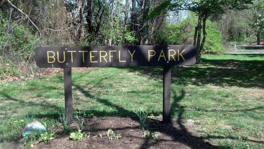 Butterfly Park Sign