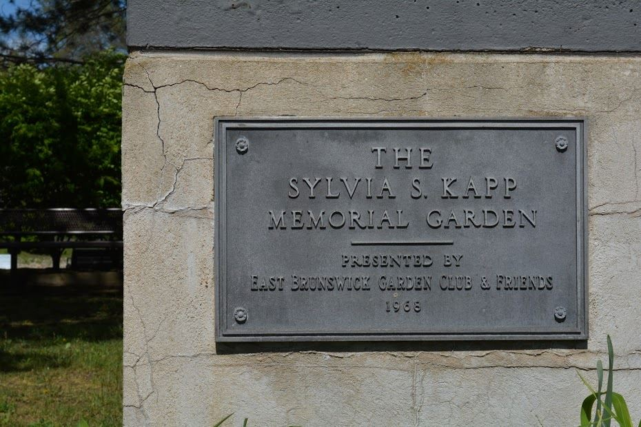 The Sylvia S. Kapp Memorial Garden Plaque
