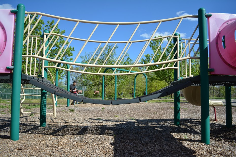 Playground Equipment Bridge