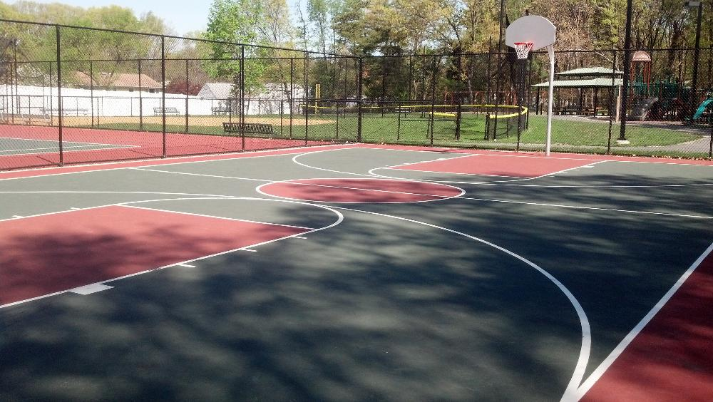 Pine Ridge Basketball Court