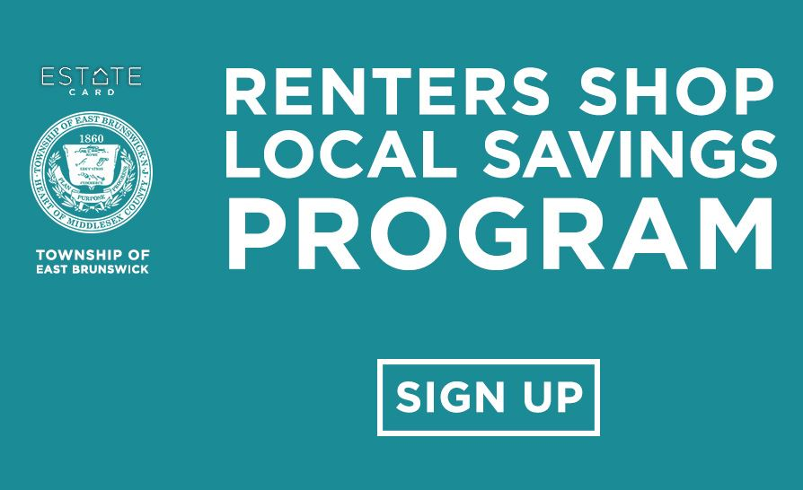 Resident (renter) sign up for local savings program - Button
