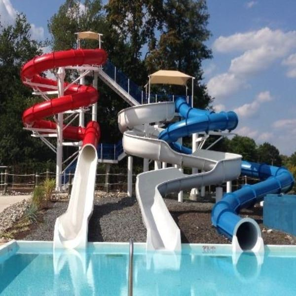 Three Twisted Slides