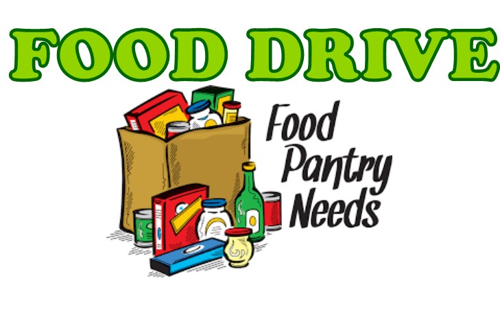 2020 Food Drive Newsflash