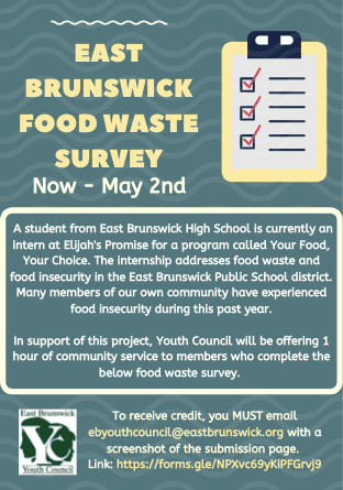 Food Waste Survey Flyer