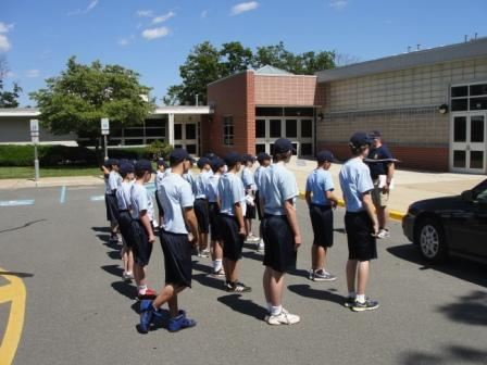 Junior Police Academy Participants