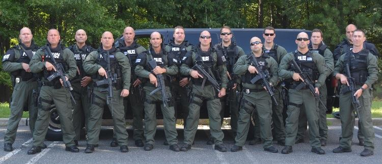 SWAT Team Group Photo