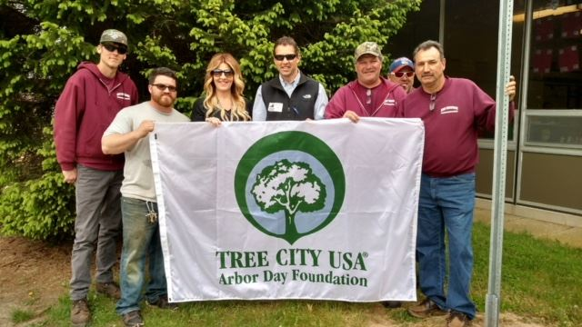 Arbor Day Group Picture - Tree City USA